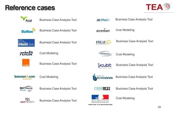 4G Business Case Analysis Tool – Business Case Analysis
