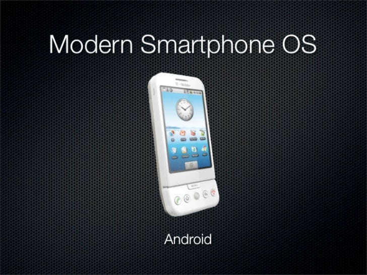 Fragmented Mobile Ecosystem              (The Shape of Things to Come)                       http://www.youtube.com/watch?...