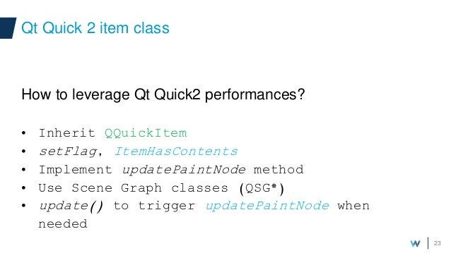 Witekio custom modern qt quick components