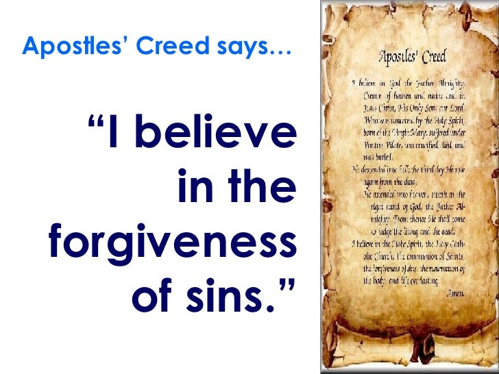 i believe in forgiveness essay In terms of theological forgiveness, i believe everything is forgivable as far is god is concerned, if true regret and remorse is present than the act can be .