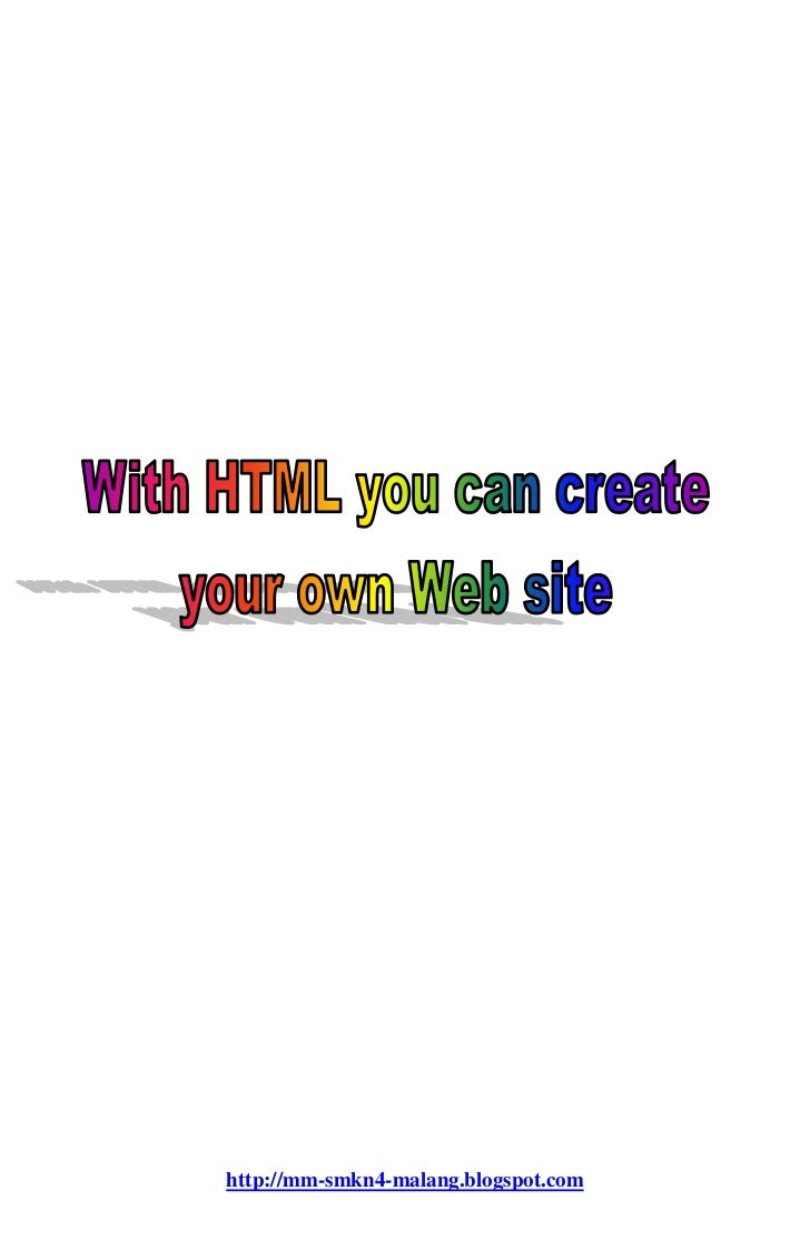 With html you can create your own web for Website where you can draw