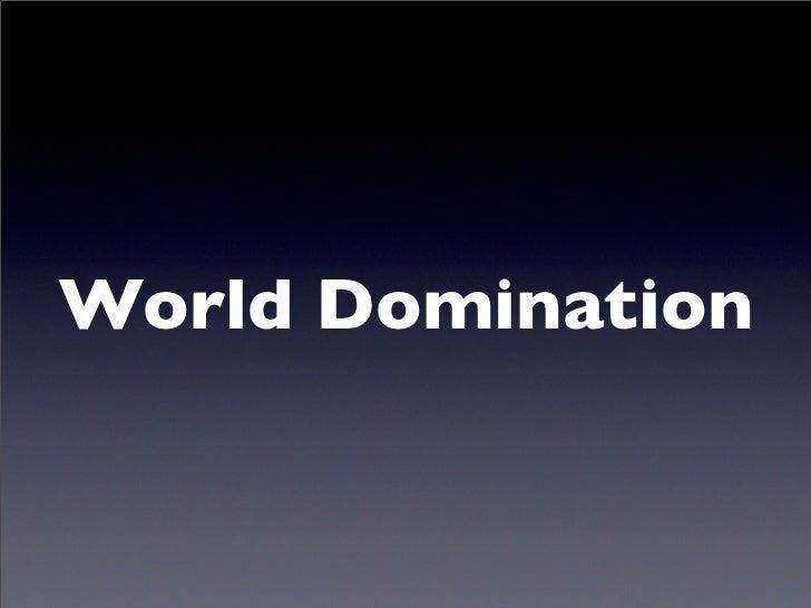C c world domination basics