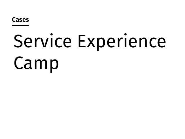 Source: Service Experience Camp