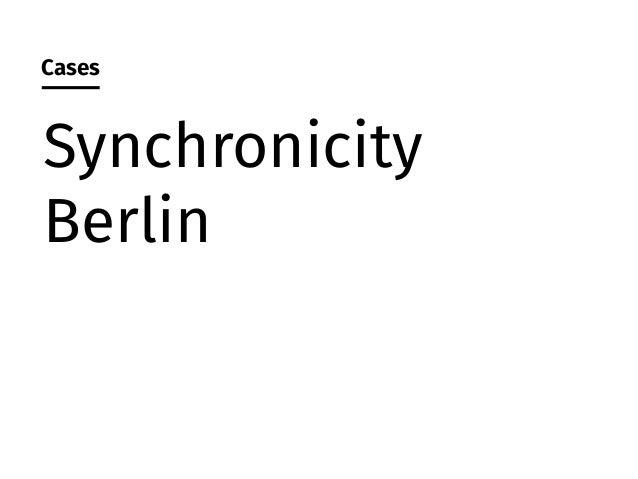 Source: Synchronicity Berlin