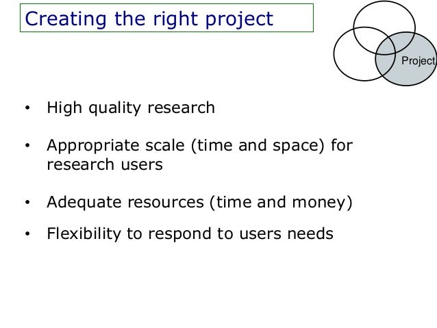 Having the right people and                                                Peopleproject (but NOT the rightpathway)       ...