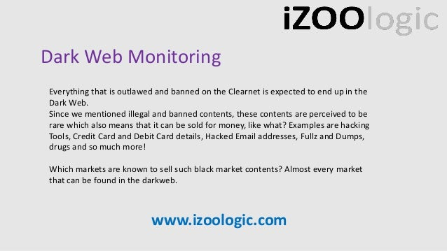 Within the dark web markets and differences