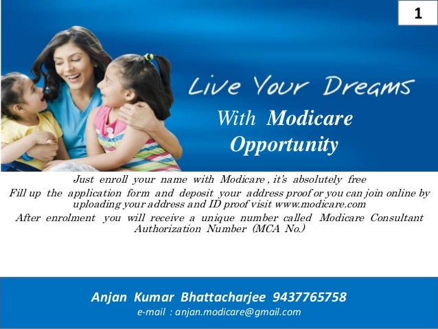 modicare business plan ppt download