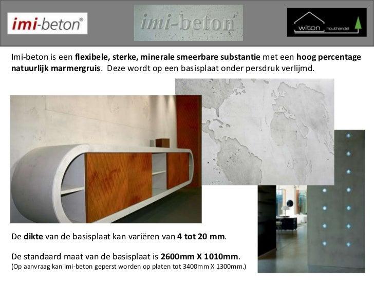 witon imi beton. Black Bedroom Furniture Sets. Home Design Ideas