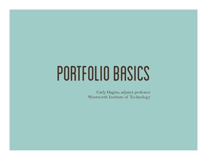 Design Portfolio Pdf Tips