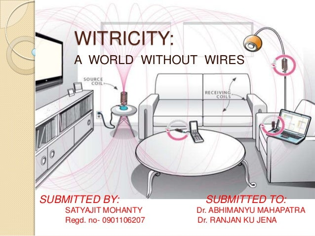 WITRICITY:      A WORLD WITHOUT WIRESSUBMITTED BY:               SUBMITTED TO:    SATYAJIT MOHANTY       Dr. ABHIMANYU MAH...