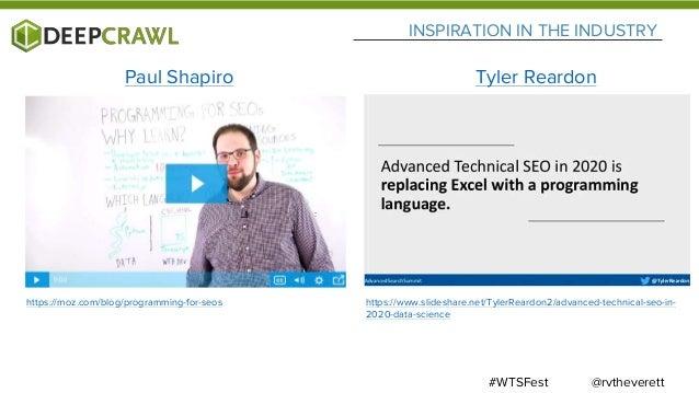 SCALING AUTOMATED QUALITY TEXT GENERATION WEBINAR @rvtheverett#WTSFesthttps://www.deepcrawl.com/blog/webinars/scaling-auto...