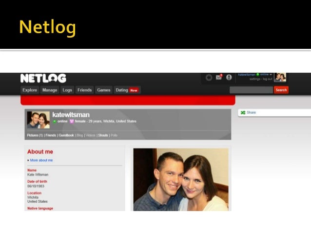 Netlog online dating sites