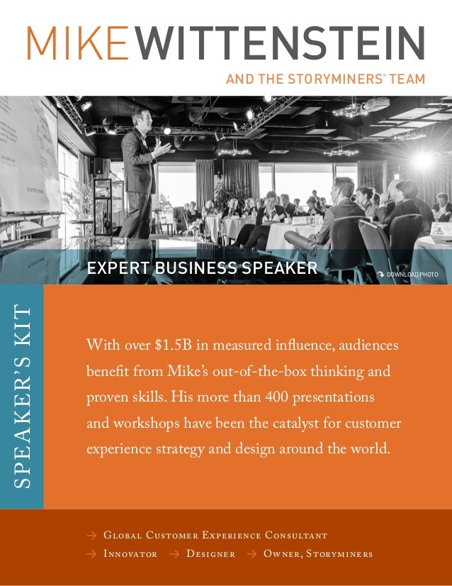 MIKEWITTENSTEIN AND THE STORYMINERS ® TEAM > Global Customer Experience Consultant >Innovator >Designer > Owner, Sto...