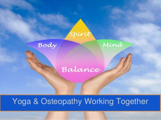 Yoga & Osteopathy Working Together