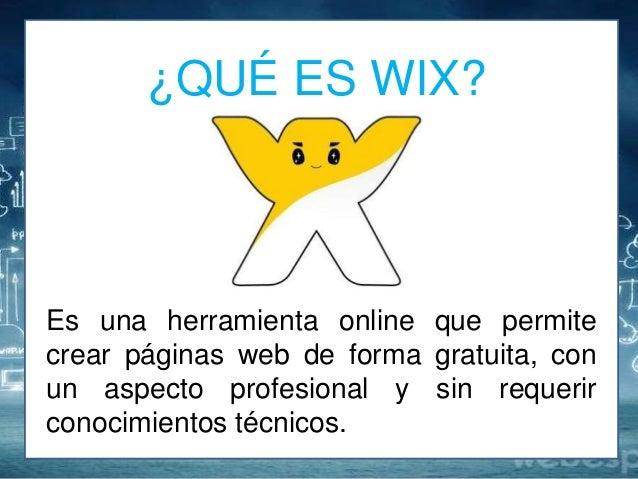 Resultado de imagen para que es wix
