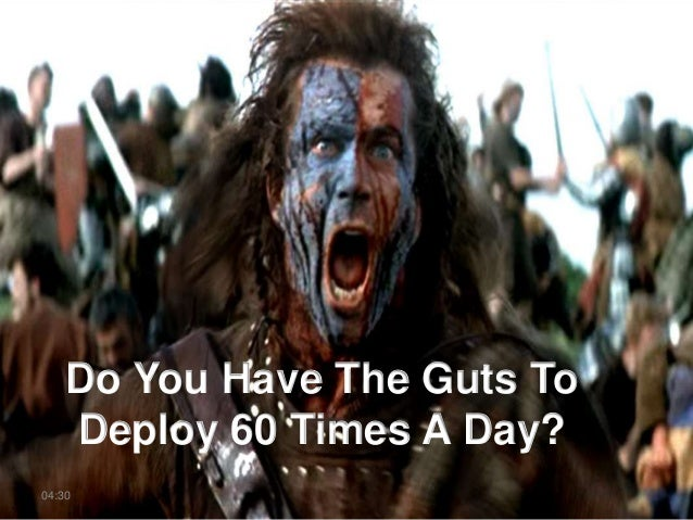 Do You Have The Guts To Deploy 60 Times A Day? 04:30