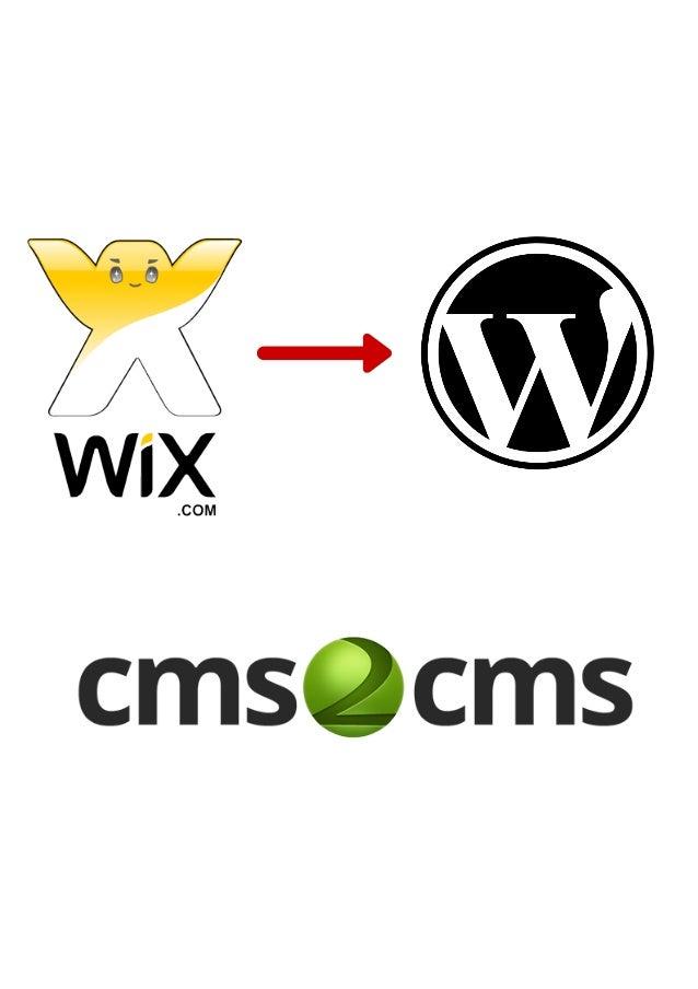 WixtoWordPressMigrationwith thePlugin
