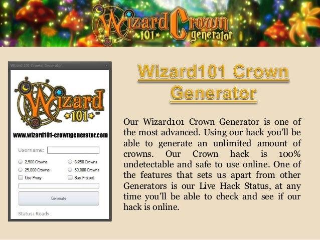 Wizard101 crown generator