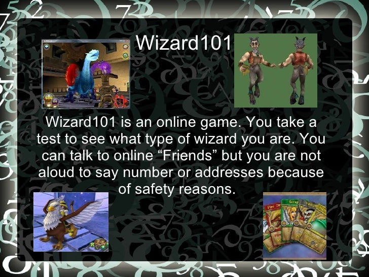 wizard101 presentation