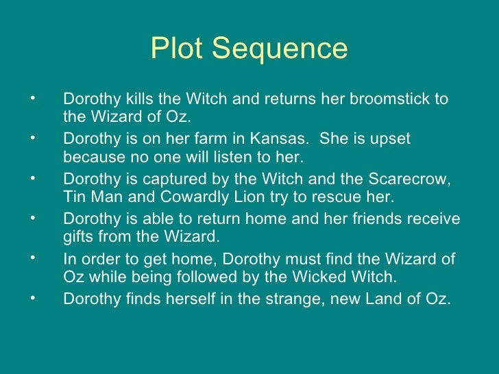 wizard of oz short summary