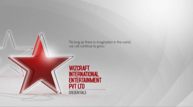 INTRODUCTION  Wizcraft delivers holistic, 360-degree brand experiences that engage, inspire  and empower our clients and t...