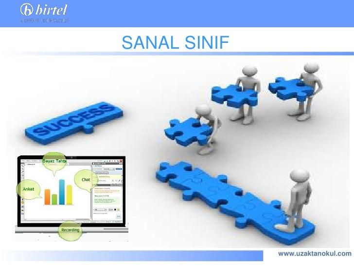SANAL SINIF              www.uzaktanokul.com