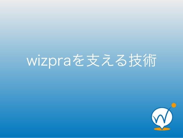 wizpraを支える技術