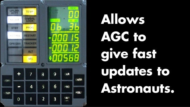 Priority Scheduling (Invented for the AGC)