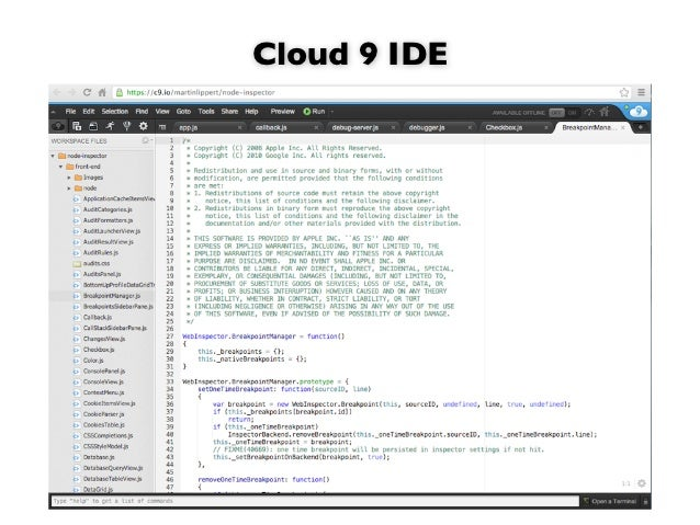 we are working onScripteda lightweight JavaScript editor  that runs in your browser