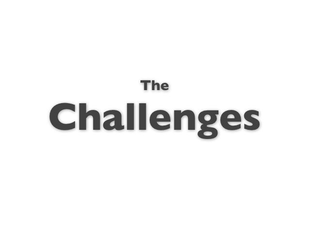 TheChallenges