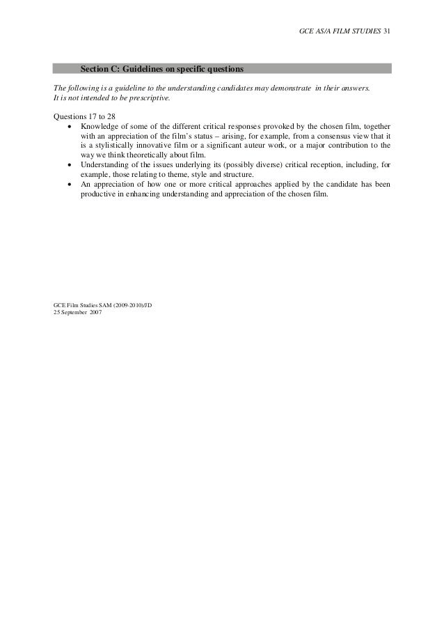 fn4 essay mark scheme
