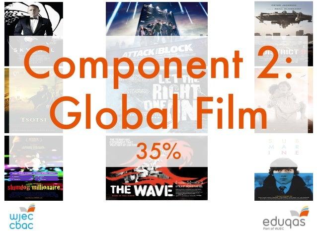 Teaching 'Aesthetics' at GCSE Level Component 2: Global Film 35%