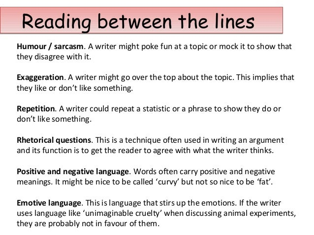 using sarcasm in an essay Home english  year 9  persuasive language  analysing persuasive language when you read an article, it's important to clarify the issue being debated  sarcasm a mocking tone eg  in english, you will often be asked to write an essay about how.
