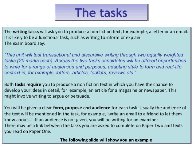 general english essays example of a college essay paper  wjec gcse exam prep higher paper unit