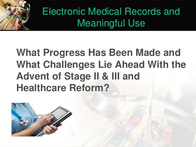 Benefits and drawbacks of electronic health record systems