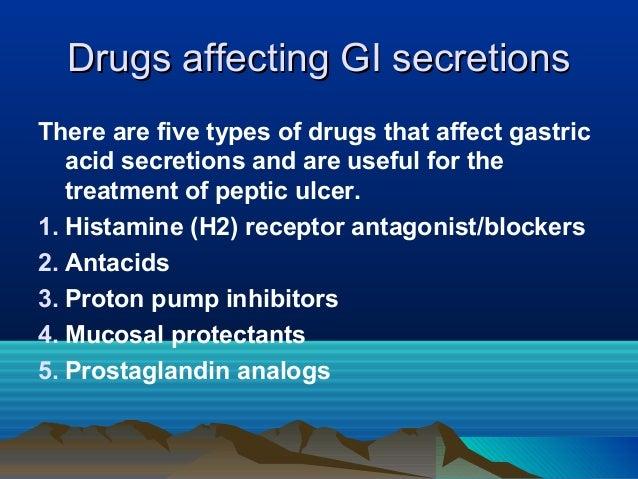 Pharmacology powerpoint git drugs