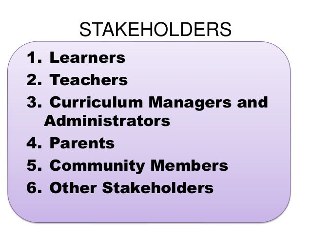 Identifying Stakeholders' Responsibilities for Closing Achievement Gaps: Stakeholder Actions
