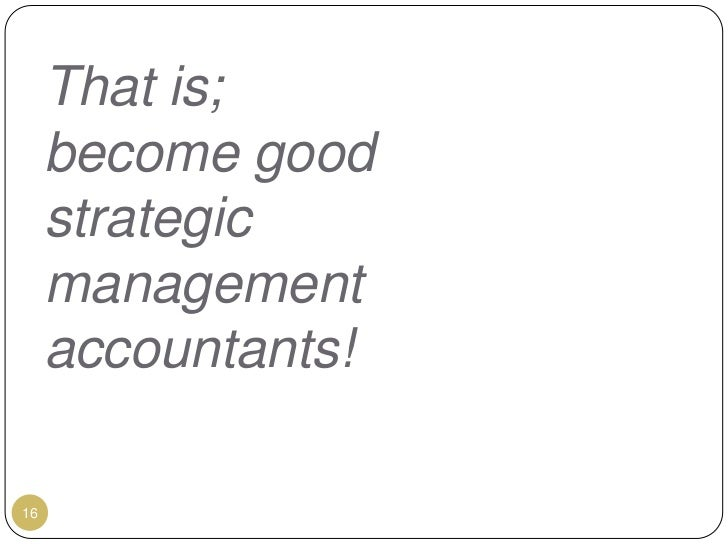 Wk1 management accounting