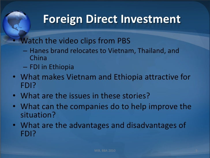 the situation of fdi in vietnam Situation of fdi attraction in vietnam period 1988-2016 quang tri: korean investors conduct research to invest in the central highlands provinces attracting investment capital the status of foreign direct investment attraction in 11.