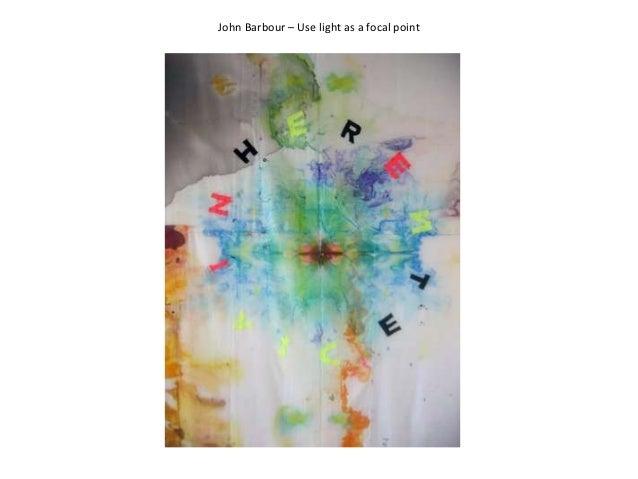 John Barbour – Use light as a focal point