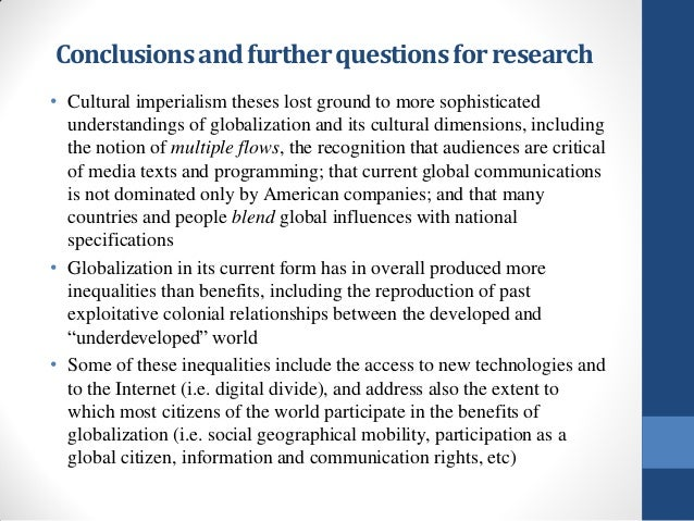 the effect of media globalization Global media essays are beneficial to understand the multifaceted features of the topic deeply however, the process of global media have both advantages and also some other disadvantages since, globalization of the media has eased a complete restructuring of media systems into a single global media system.