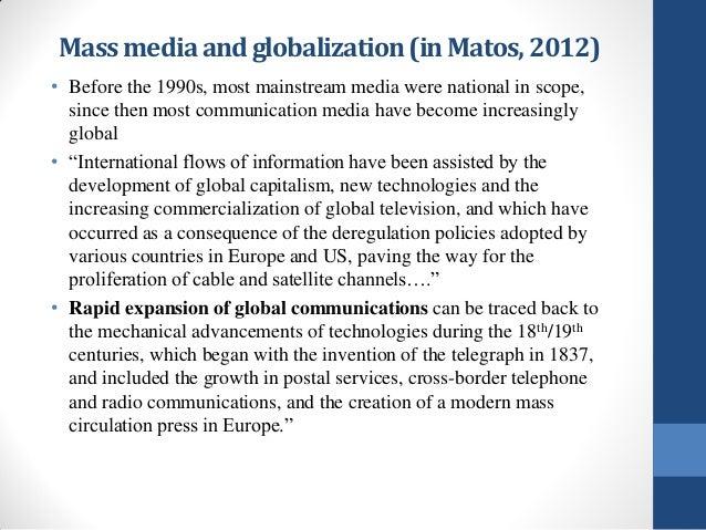 media and globalization essay