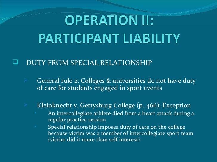 kleinknecht v gettysburg college