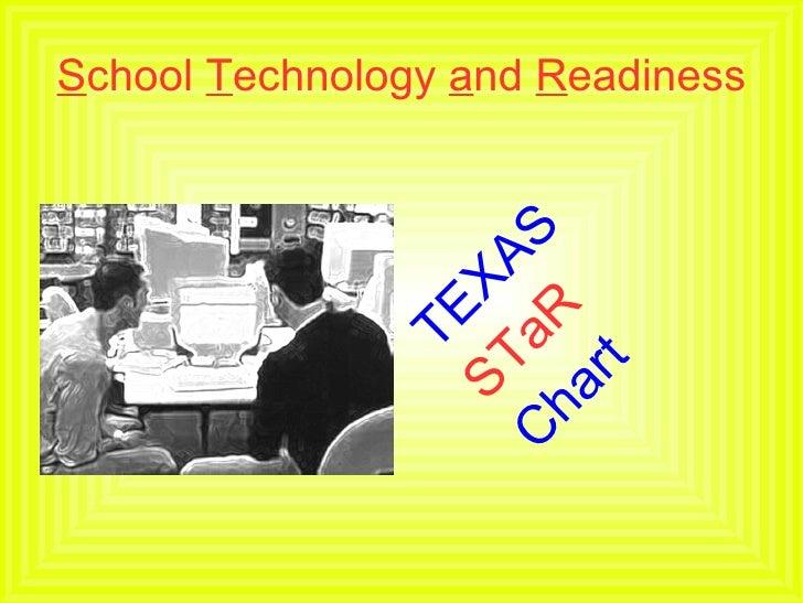 S chool  T echnology  a nd  R eadiness <ul><li>TEXAS </li></ul><ul><li>STaR </li></ul><ul><li>Chart </li></ul>