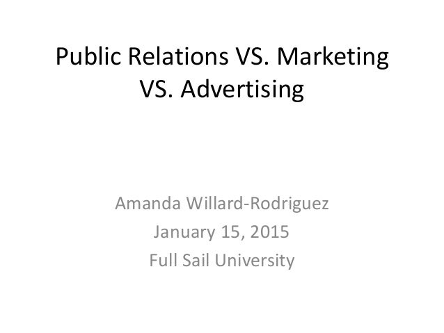 PR and marketing: What's the difference?