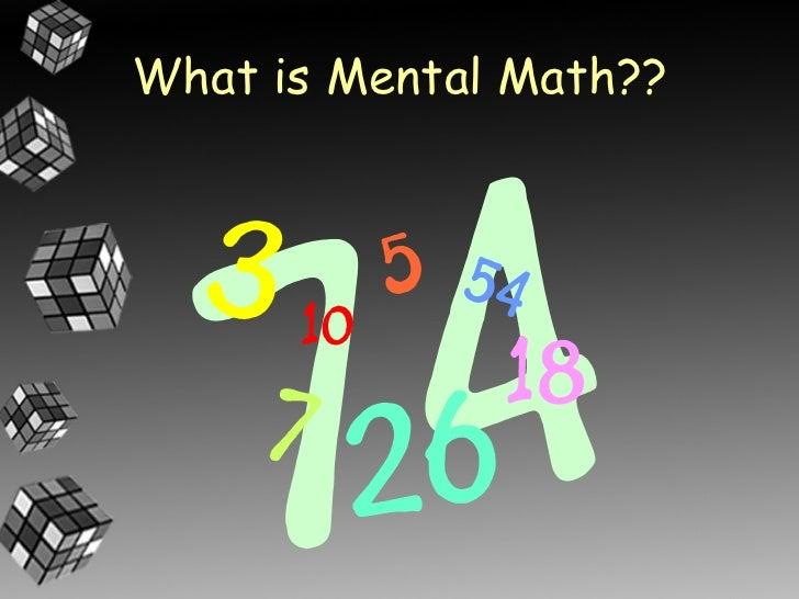 Mental Math Strategies for Grade 3 Slide 2