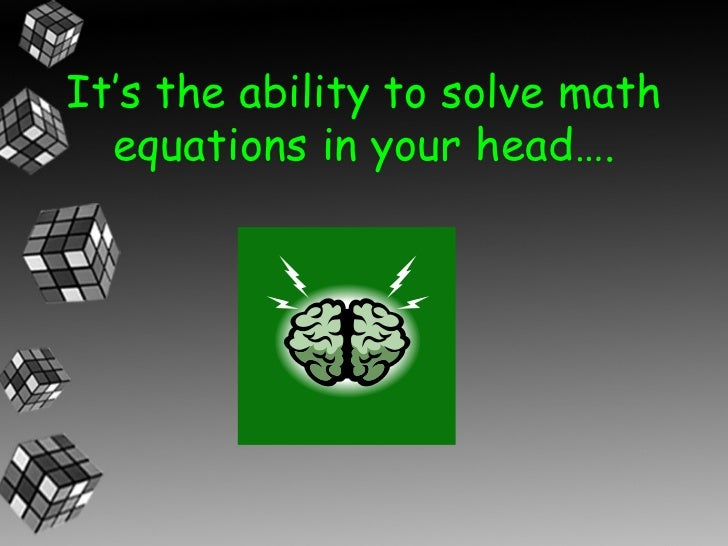 Mental Math Strategies for Grade 3 Slide 3