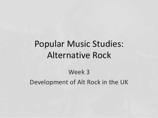 The development of the rock musical