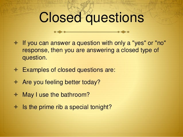Open ended questions: definition, characteristics, examples, and.