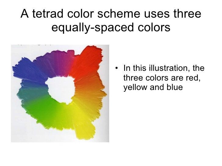 21 A Tetrad Color Scheme